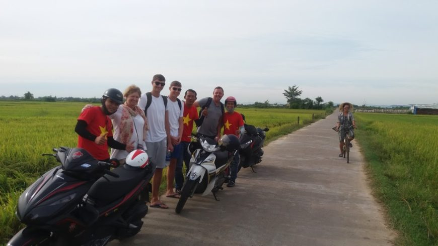8. My Son Sanctuary By Motorbike through rural villages (Private Tour)